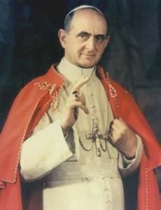 paulo VI bênção