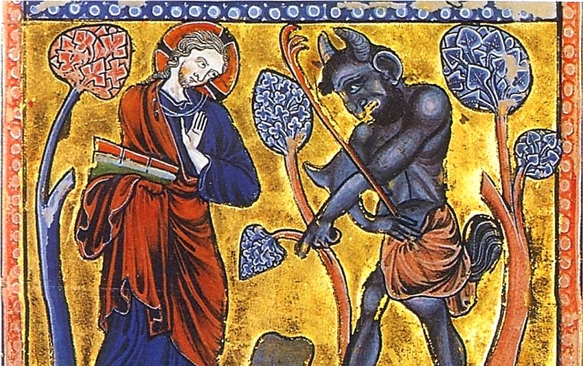 satan dans la cité 1 - Tentation-du-Christ