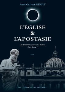 B. 8 avril 2016 - L'Eglise & l'Apostasie - couverture finale